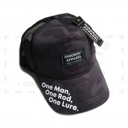 "OMOROL® ""Essential"" Trucker Hat (# MIDNIGHT CAMO)"