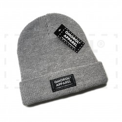 "OMOROL® Beanie ""Essential"" (# HEATHER GREY)"