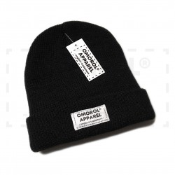 "OMOROL® Beanie ""Essential"" (# BLACK)"