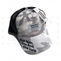 "OMOROL® ""Essential"" Trucker Hat (# ARCTIC CAMO)"